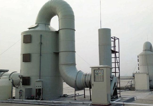 SJ-2型酸霧凈化設置